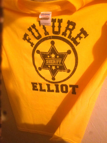 ONLY $15 -$20 Personalized Sheriff shirt