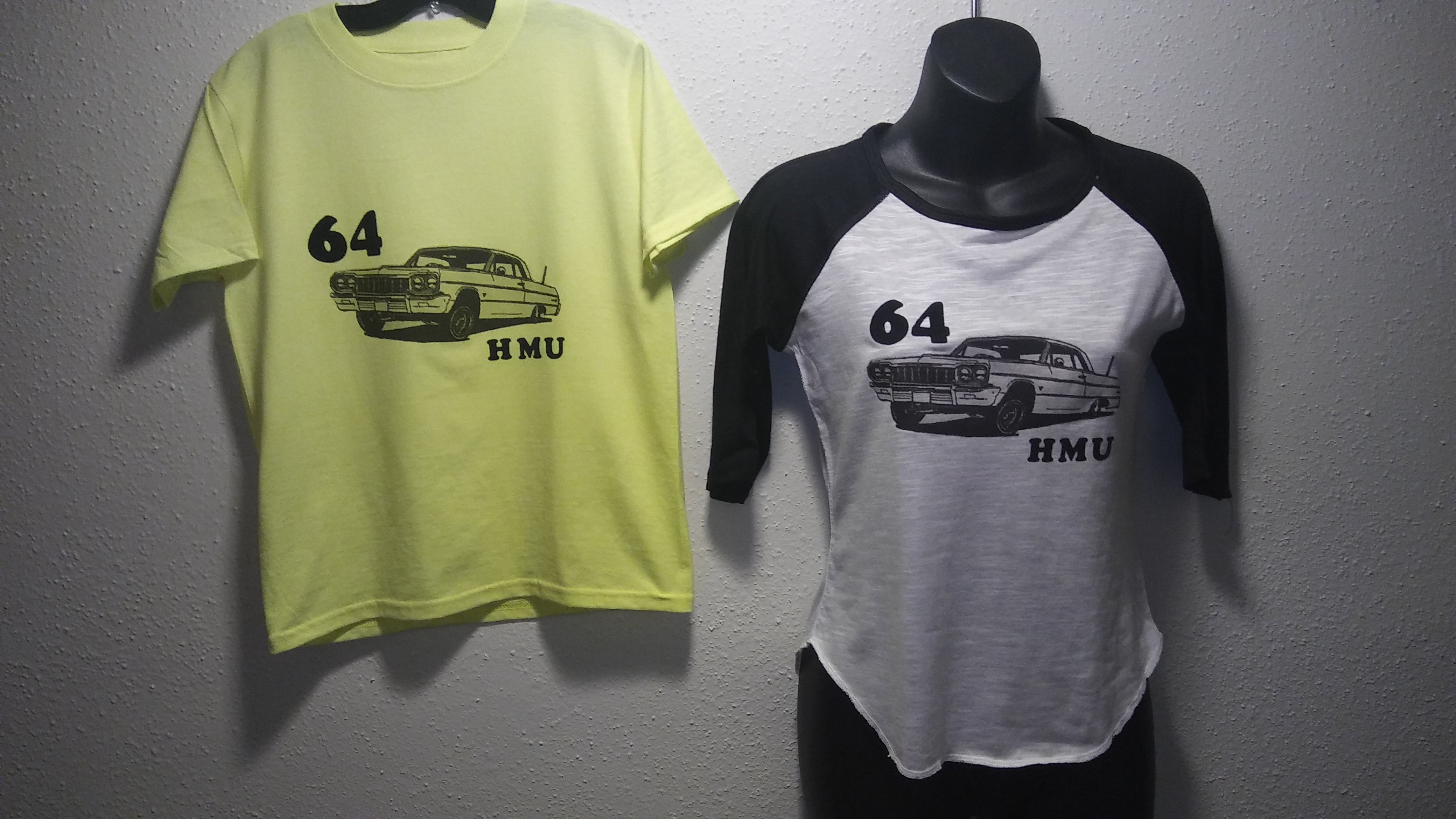 SIZE MEDIUM YOUTH 64 Chevy modern vintage top