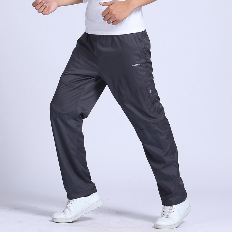 New Outwear Quick Dry Men's Pants Elastic Waist Full Length Men Pants tatting Pants YA043