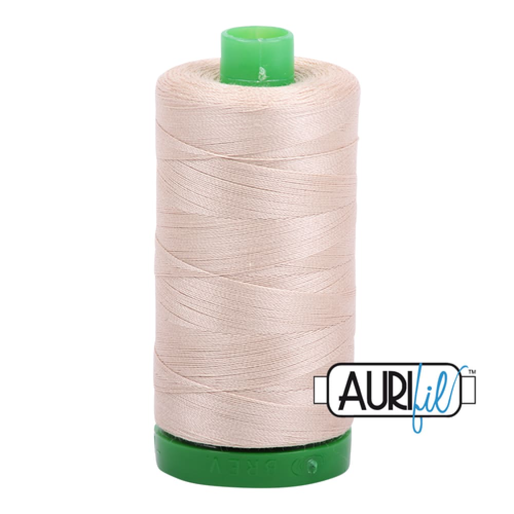 Aurifil 40wt Cotton Thread - Ermine 2312 - Fabric Funhouse