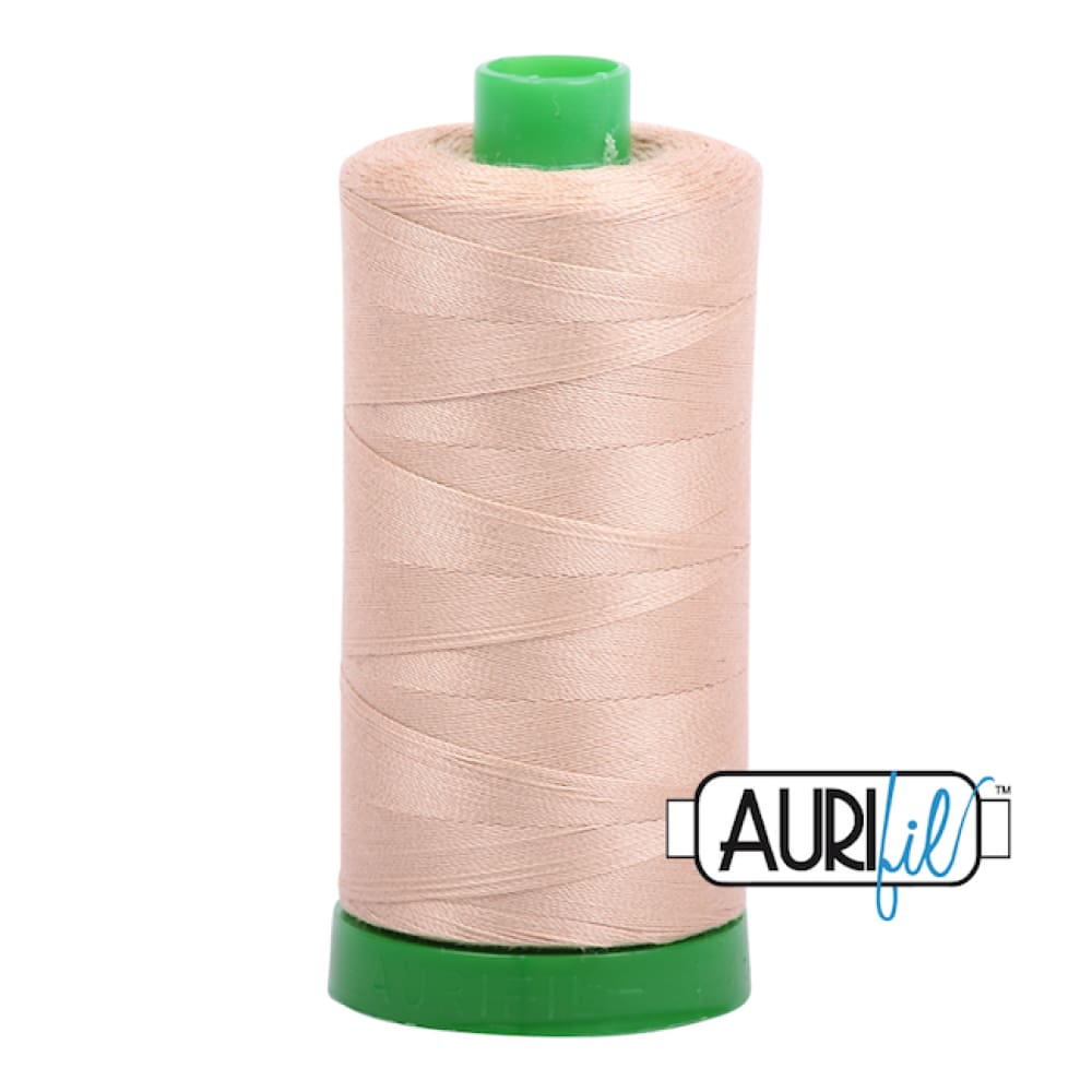 Aurifil 40wt Cotton Thread - Beige 2314 - Fabric Funhouse