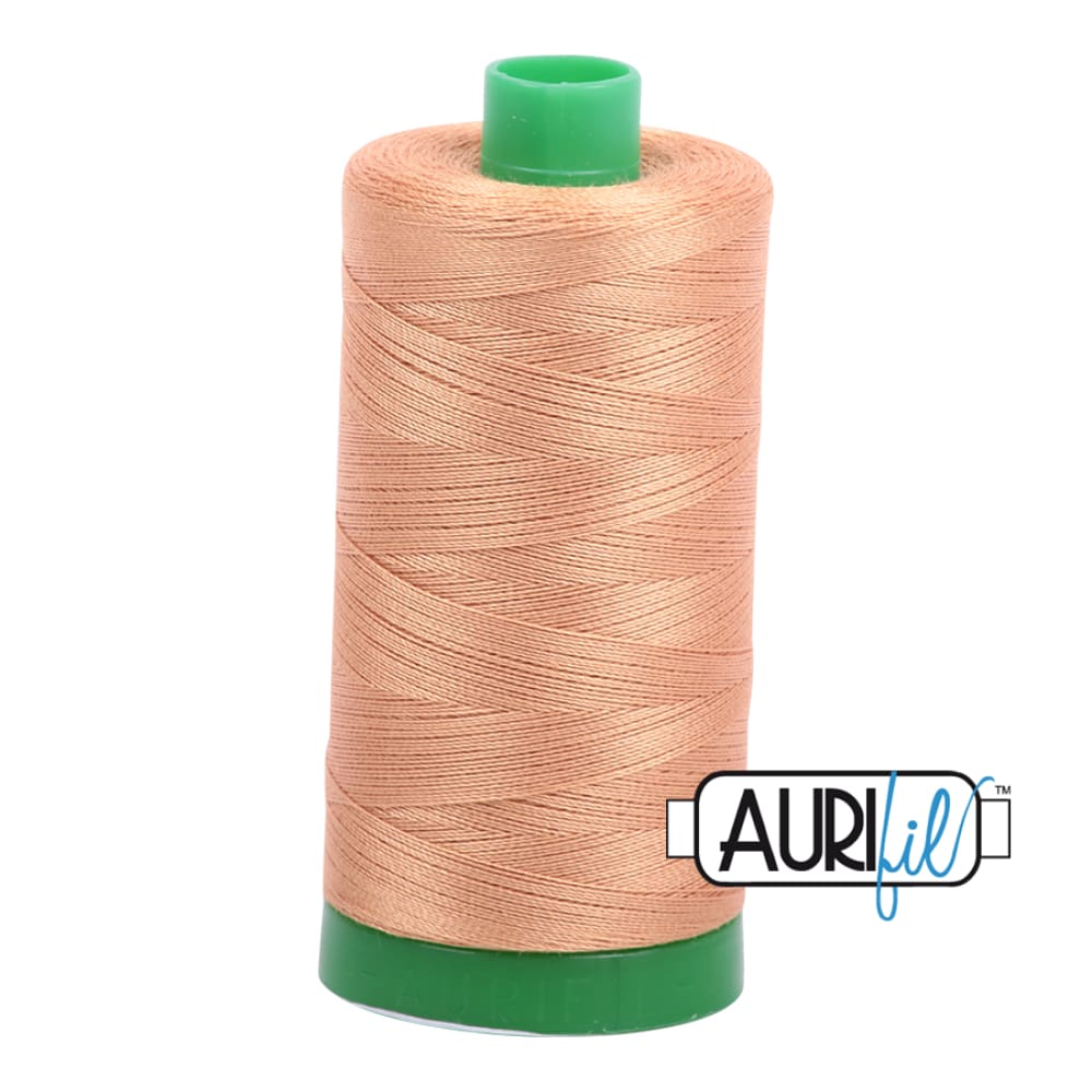 Thread - Aurifil 40wt Cotton Thread - Light Toast 2320