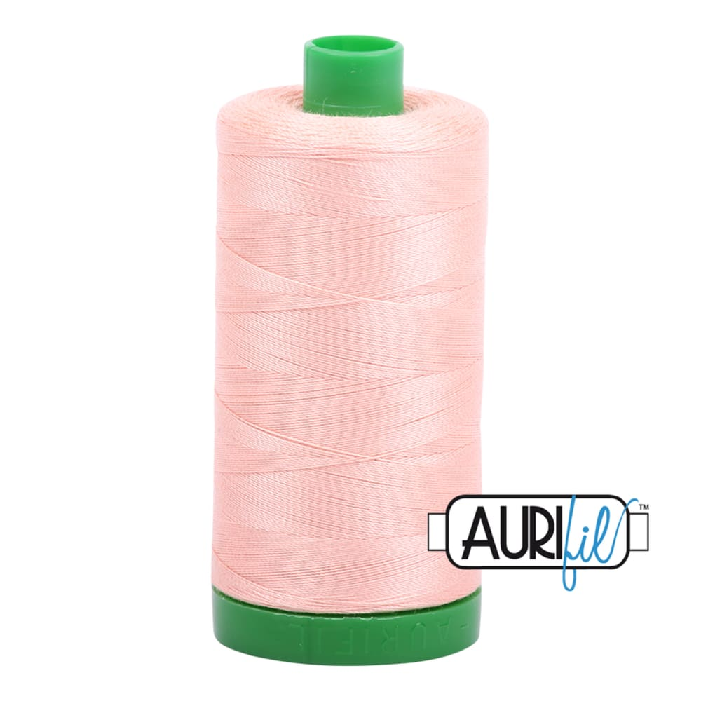 Aurifil 40wt Cotton Thread - Fleshy Pink 2420 - Fabric Funhouse