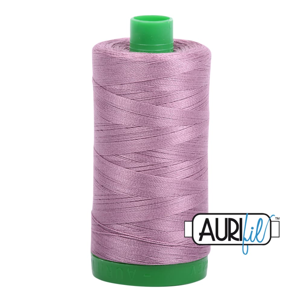 Aurifil 40wt Cotton Thread - Wisteria 2566 - Fabric Funhouse
