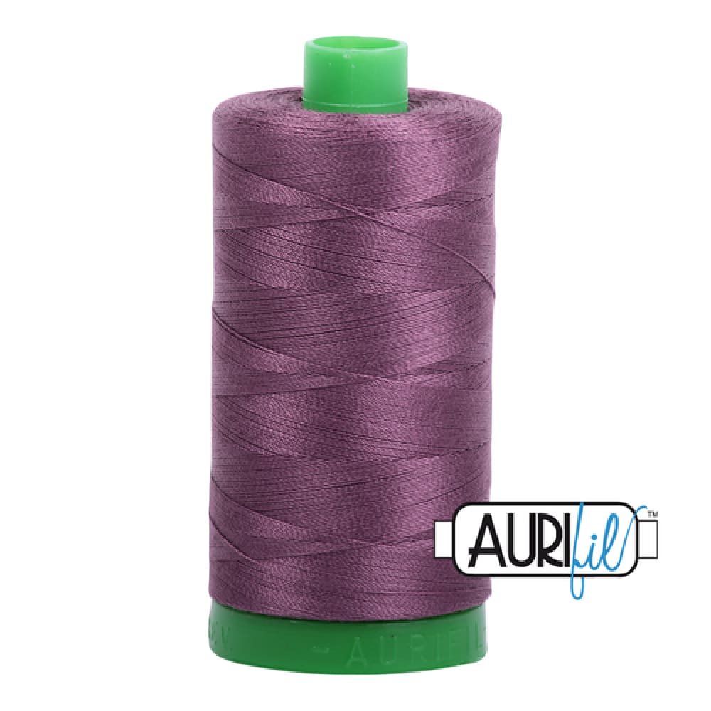 Aurifil 40wt Cotton Thread - Mulberry 2568 - Fabric Funhouse