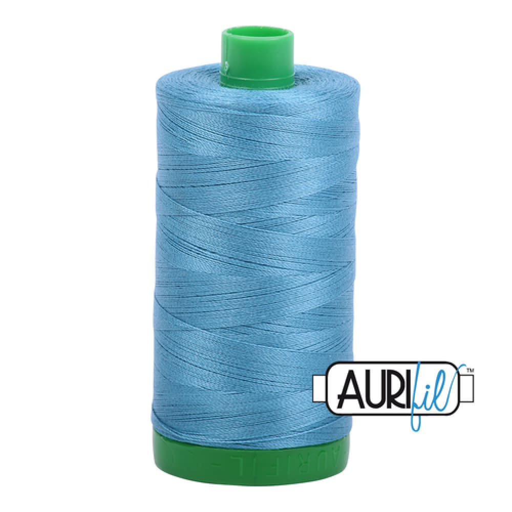 Aurifil 40wt Cotton Thread - Teal 2815 - Fabric Funhouse
