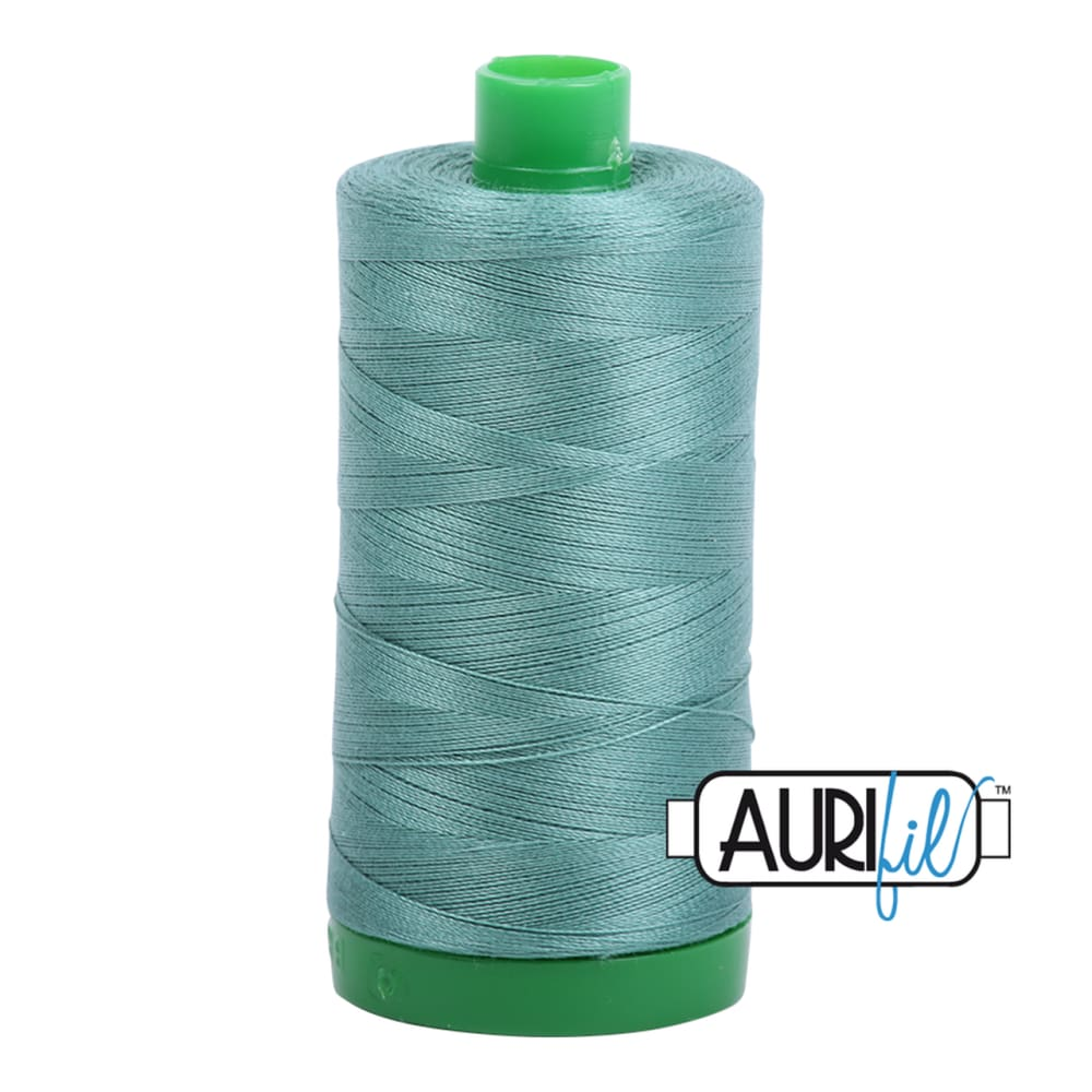 Aurifil 40wt Cotton Thread - Medium Juniper 2850 - Fabric Funhouse