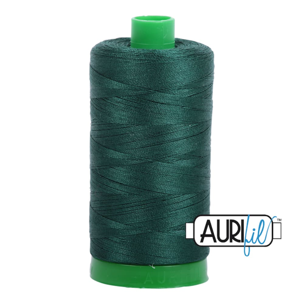 Aurifil 40wt Cotton Thread - Medium Spruce 2885 - Fabric Funhouse