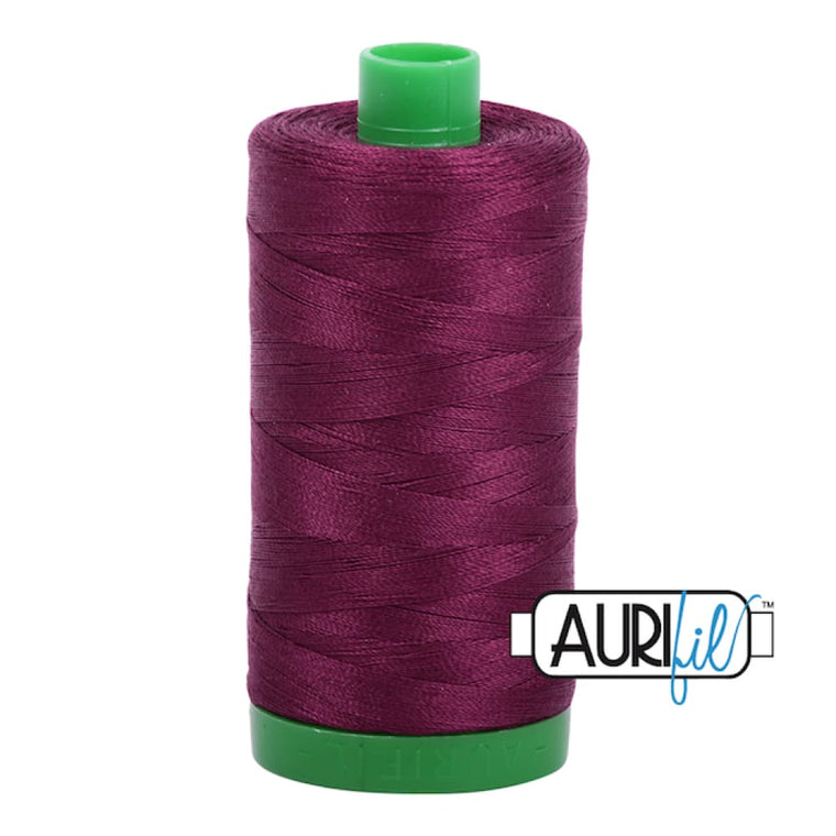 Aurifil 40wt Cotton Thread - Plum 4030*