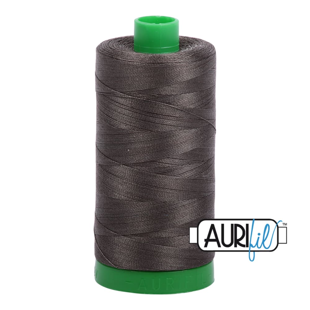 Aurifil 40wt Cotton Thread - Asphalt 5013 - Fabric Funhouse
