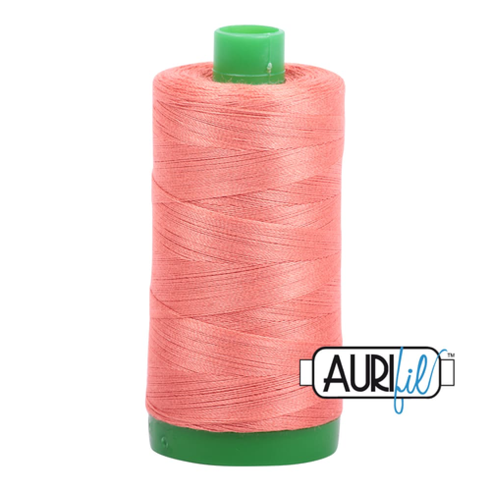 Aurifil 40wt Cotton Thread - Tangerine Dream 6729 - Fabric Funhouse