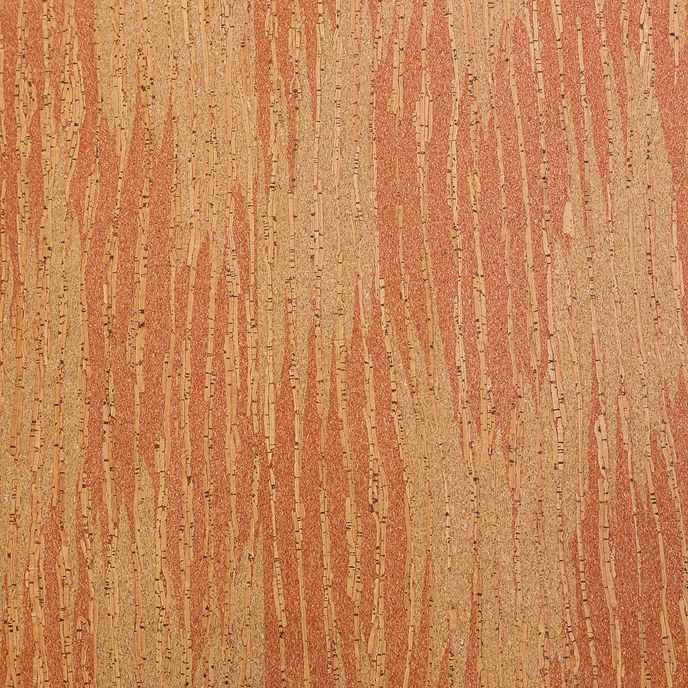 Cork Fabric - Red Sandstone - Fabric Funhouse