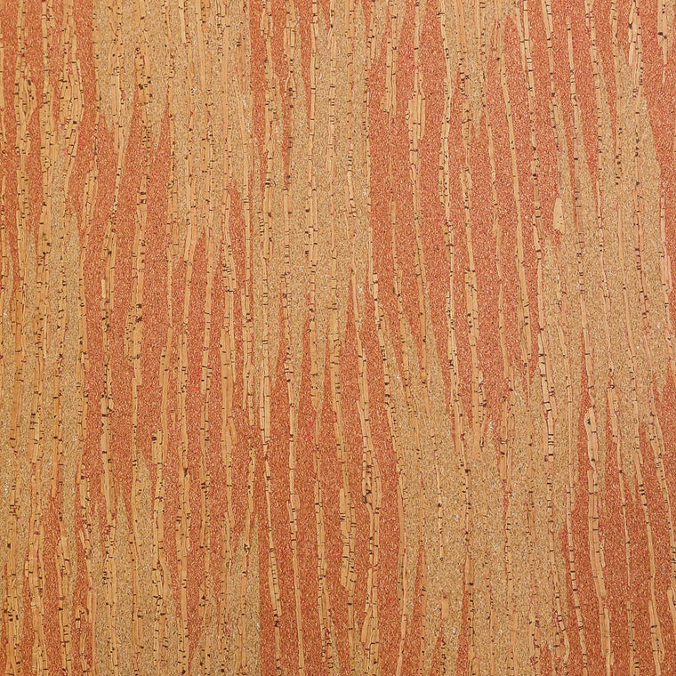 Cork Fabric - Red Sandstone