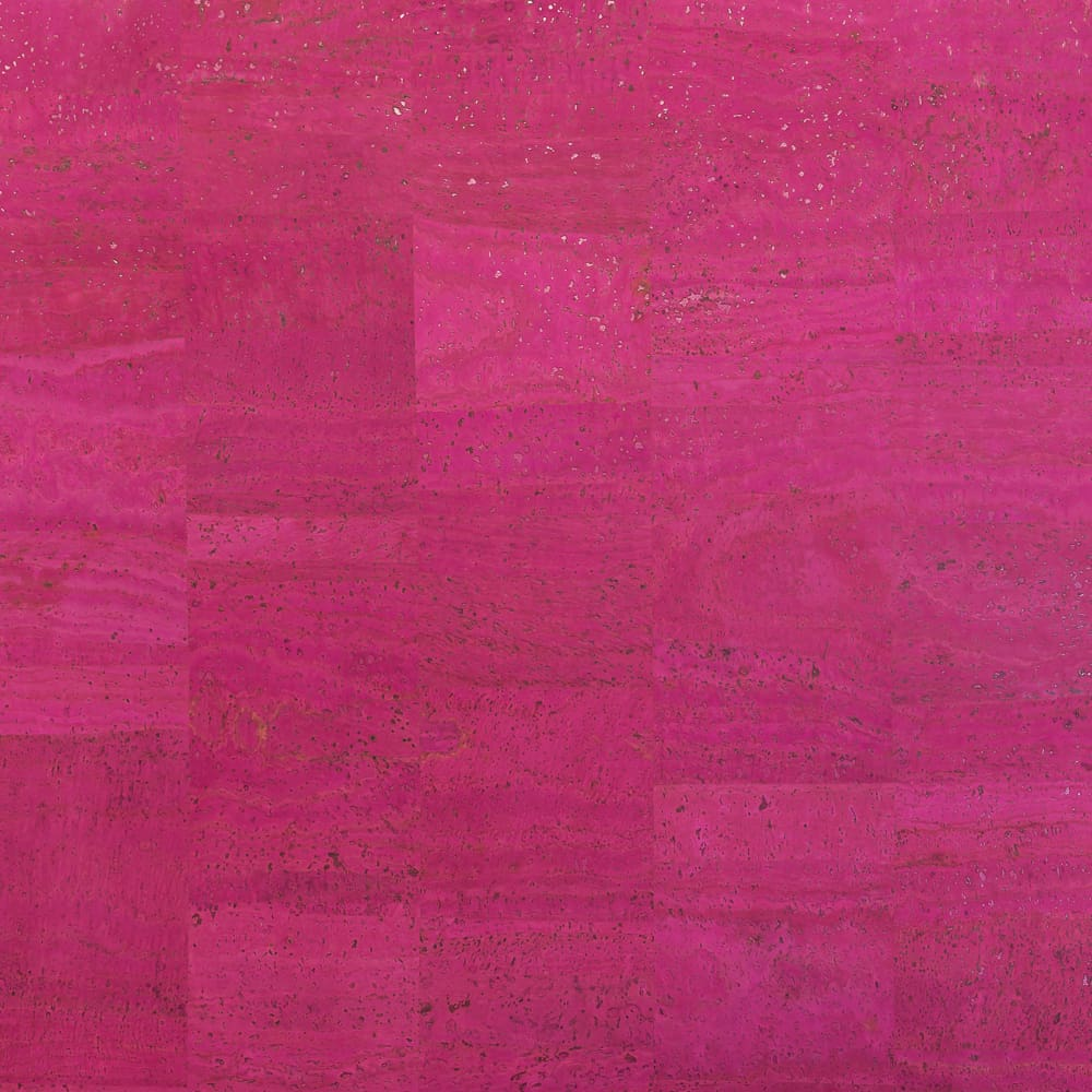 Cork Fabric - Fuchsia - Fabric Funhouse