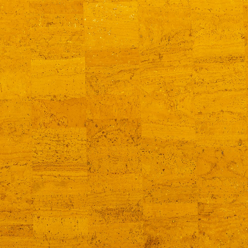Cork Fabric - Mustard - Fabric Funhouse