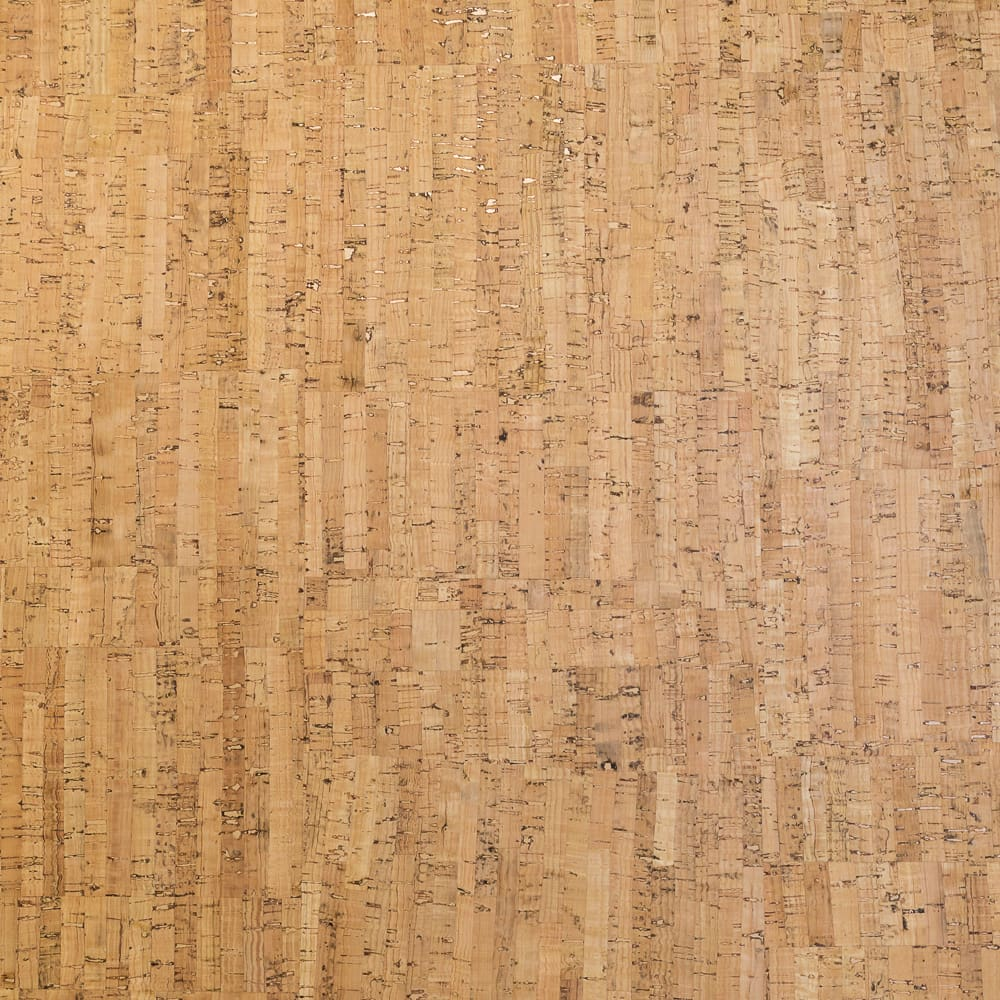 Fabric Funhouse Cork Fabric in Natural, which showcases strips of minimally processed cork