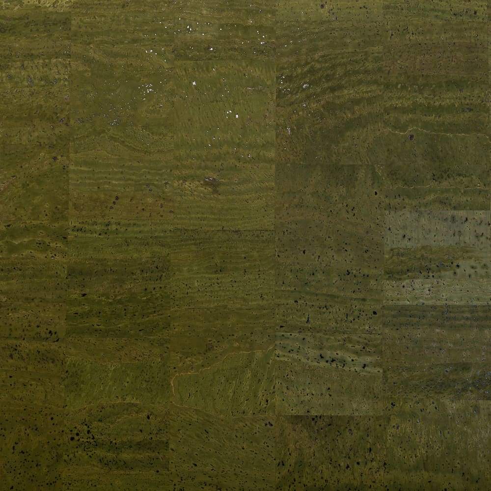 Cork Fabric - Olive - Fabric Funhouse