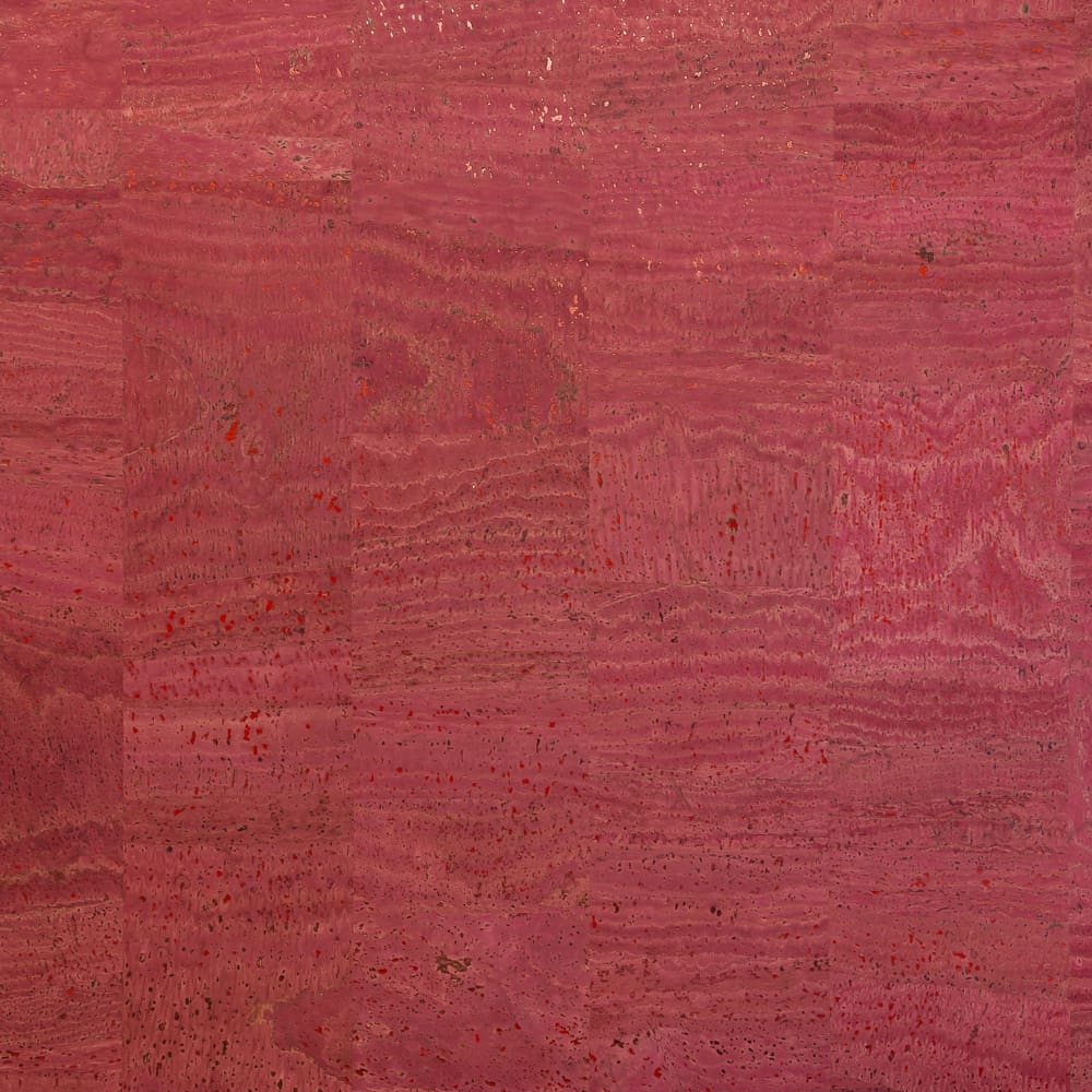 Cork Fabric - Pomegranate - Fabric Funhouse