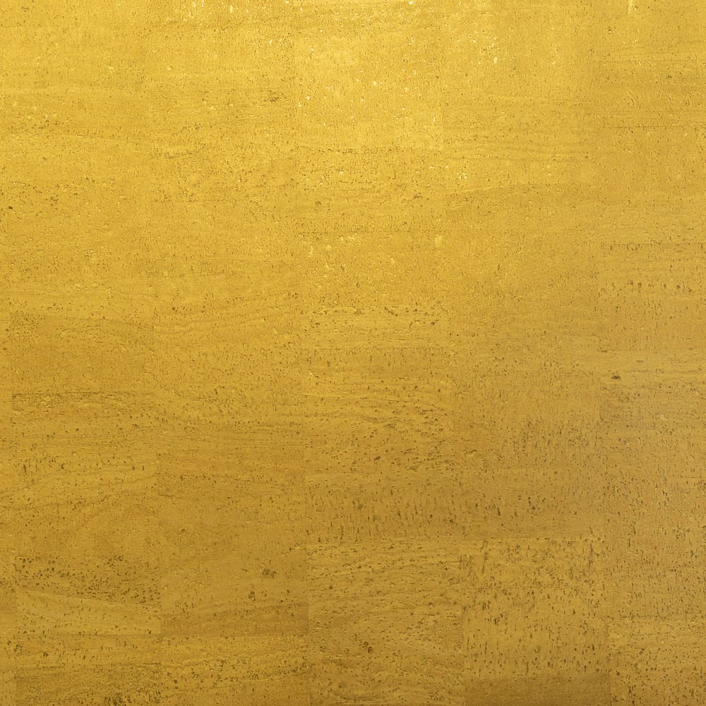 Cork Fabric - Shimmering Gold - Fabric Funhouse
