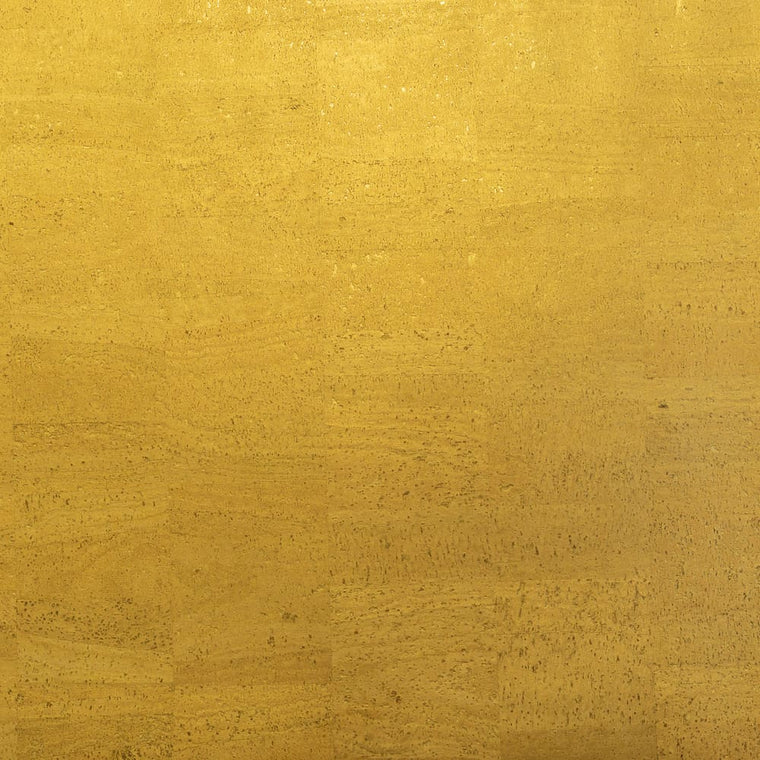 Cork Fabric - Shimmering Gold