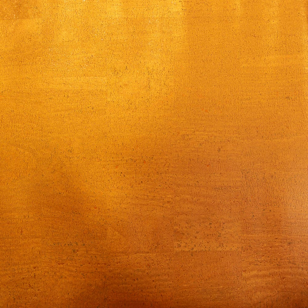 Cork Fabric - Shimmering Orange Sunset - Fabric Funhouse