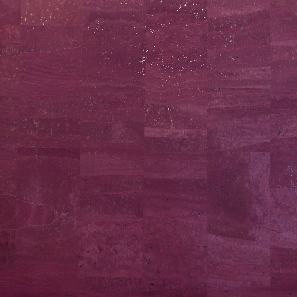 Cork Fabric - Sugar Plum Purple - Fabric Funhouse