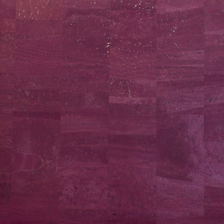 Cork Fabric - Sugar Plum