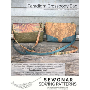 Load image into Gallery viewer, Sewing Pattern - SewGnar Paradigm Crossbody Sewing Pattern