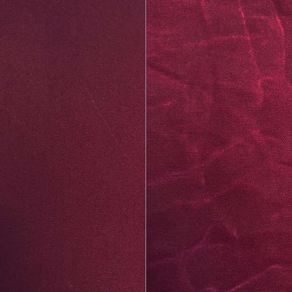 Waxed Canvas - Waxed Canvas - Imperfection Collection - Berry Garnet