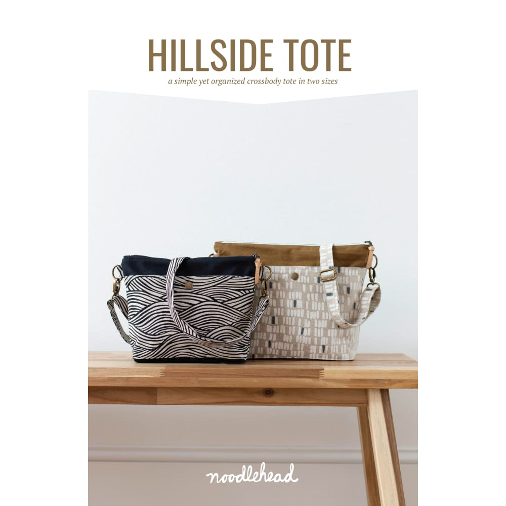 Noodlehead - Hillside Tote Sewing Pattern - Fabric Funhouse