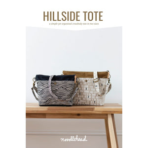 Load image into Gallery viewer, Noodlehead - Hillside Tote Sewing Pattern - Fabric Funhouse