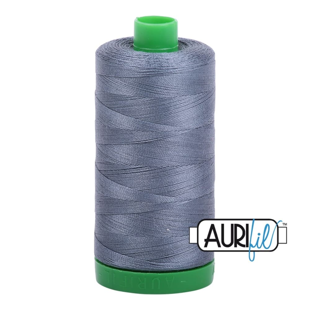Thread - Aurifil 40wt Cotton Thread - Dark Grey 1246