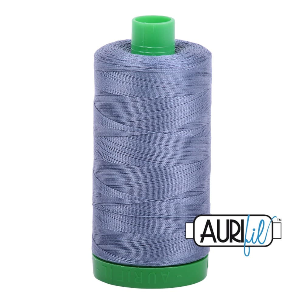 Thread - Aurifil 40wt Cotton Thread - Dark Grey Blue 1248