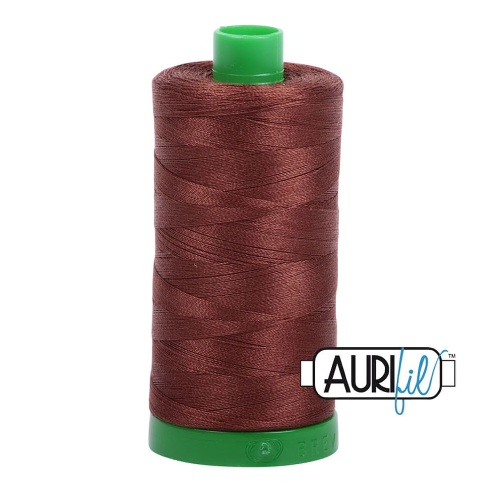 Thread - Aurifil 40wt Cotton Thread - Chocolate 2360