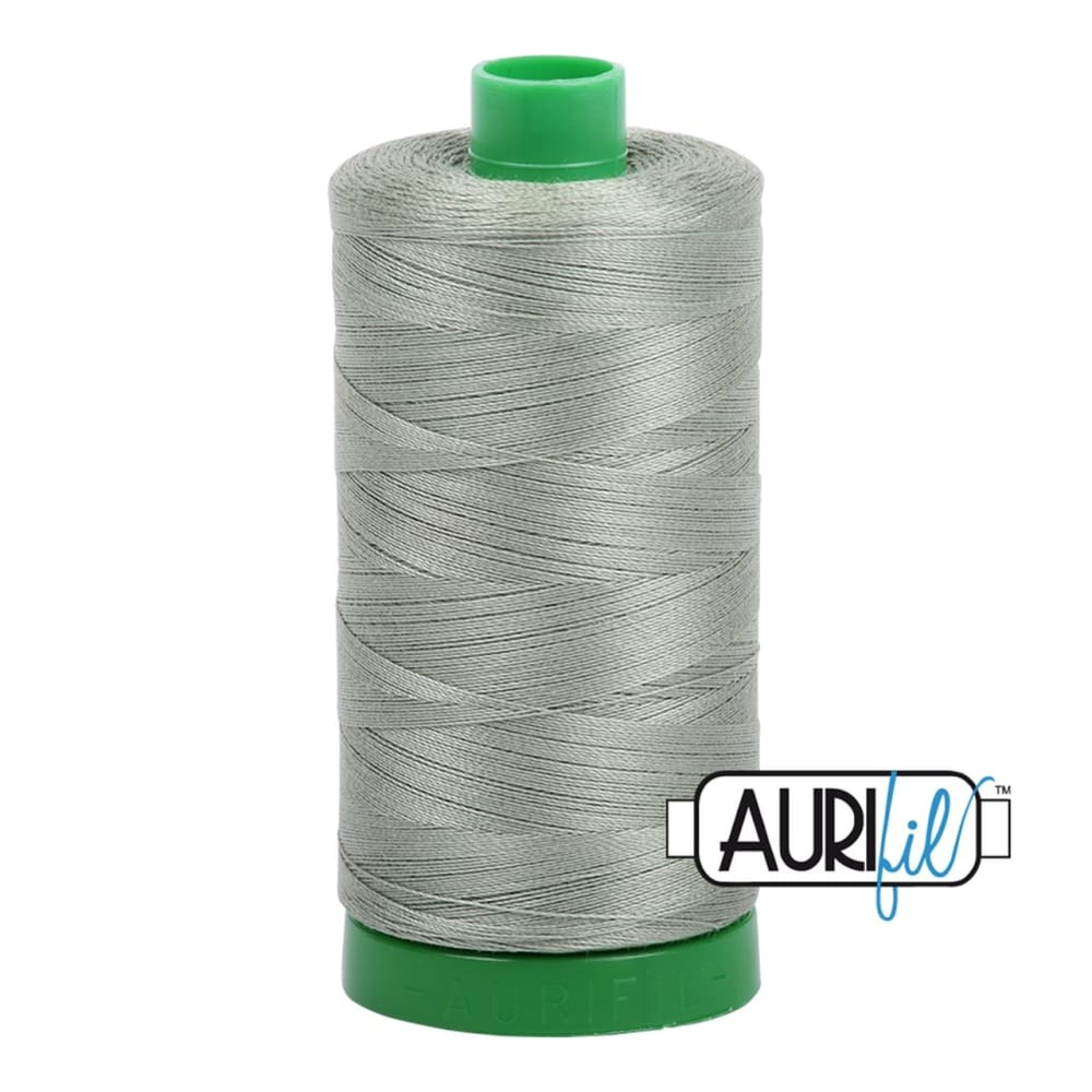 Thread - Aurifil 40wt Cotton Thread - Military Green 5019