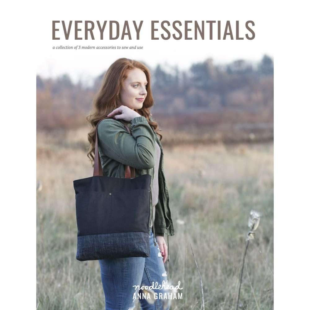 Noodlehead - Everyday Essentials Booklet: a mini pattern collection - Fabric Funhouse