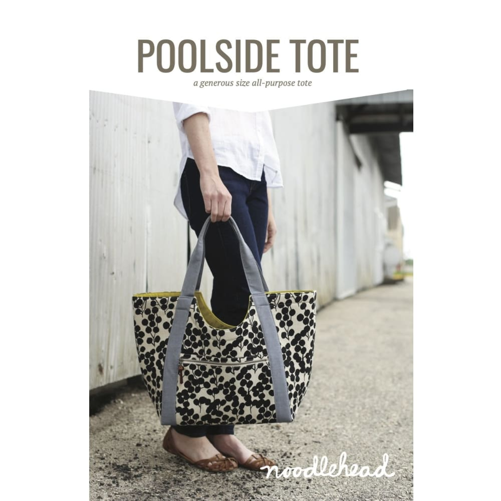 Noodlehead - Poolside Tote Paper Pattern - Fabric Funhouse