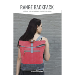 Load image into Gallery viewer, Noodlehead - Range Backpack Paper Pattern - Fabric Funhouse