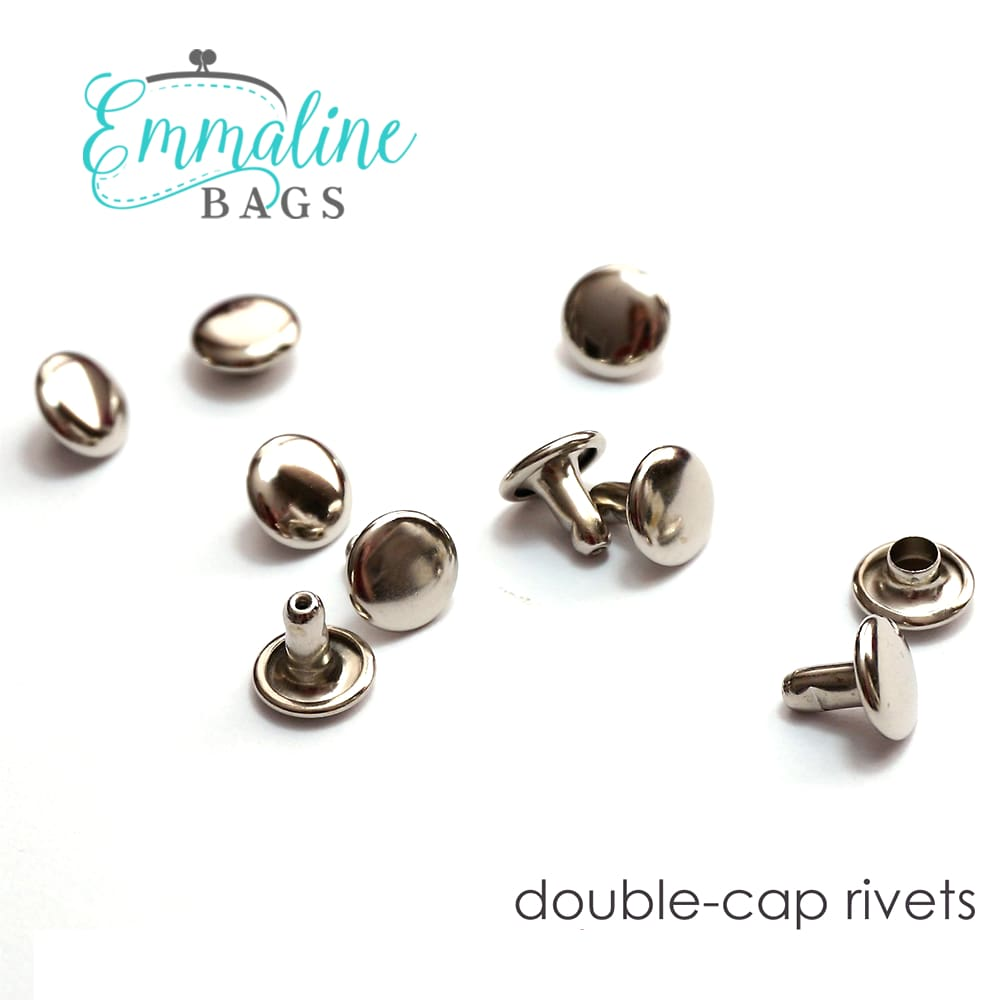 Hardware - Emmaline Double Cap Rivets - Medium - 50 pack