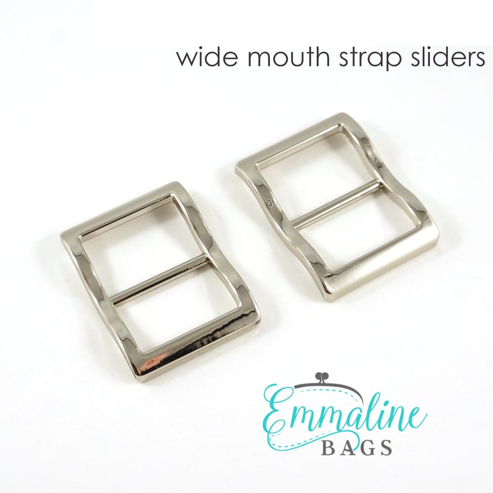 Hardware - Emmaline Strap Sliders - 1 - 2 pack
