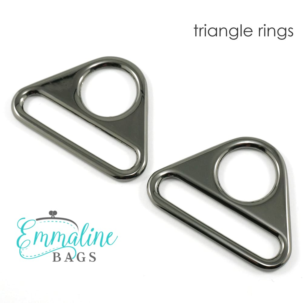 Hardware - Emmaline Triangle Rings - 1 1/2 - 2 pack