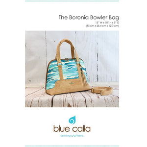 Load image into Gallery viewer, Sewing Pattern - Blue Calla Boronia Bowler Bag Sewing Pattern