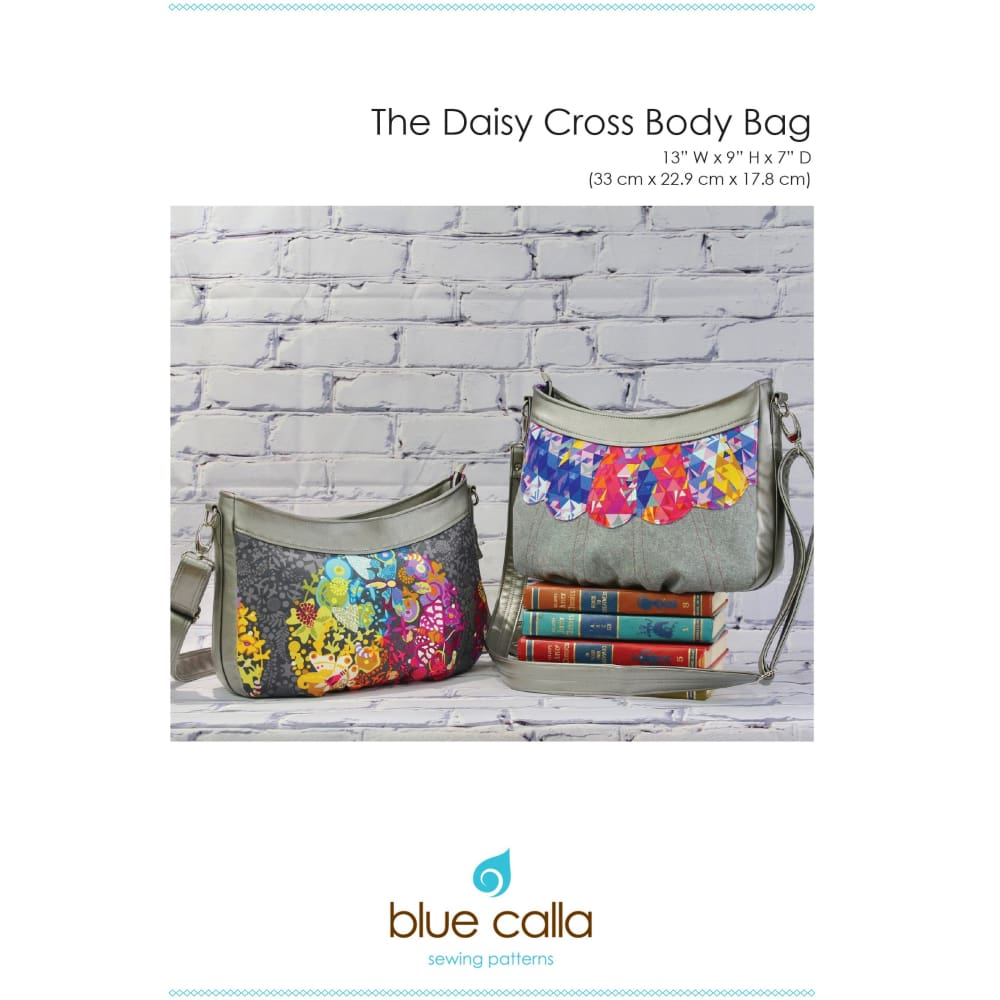 Sewing Pattern - Blue Calla Daisy Cross Body Sewing Pattern