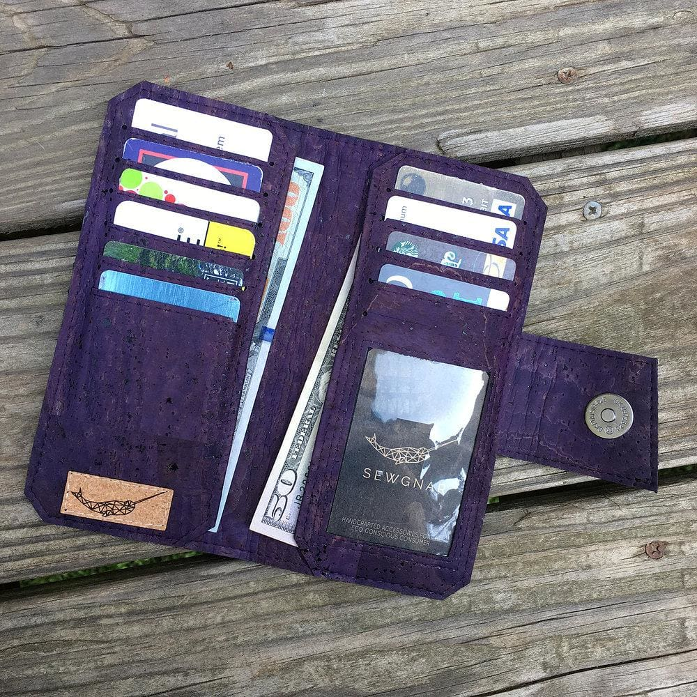 SewGnar Tall Wallet Sewing Pattern - Fabric Funhouse