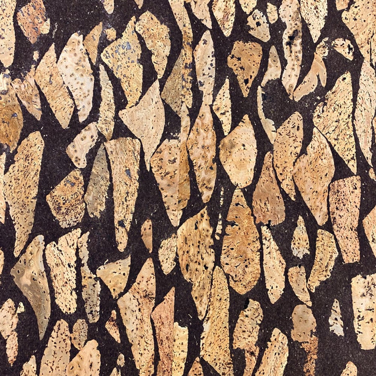 Cork Fabric - River Stone