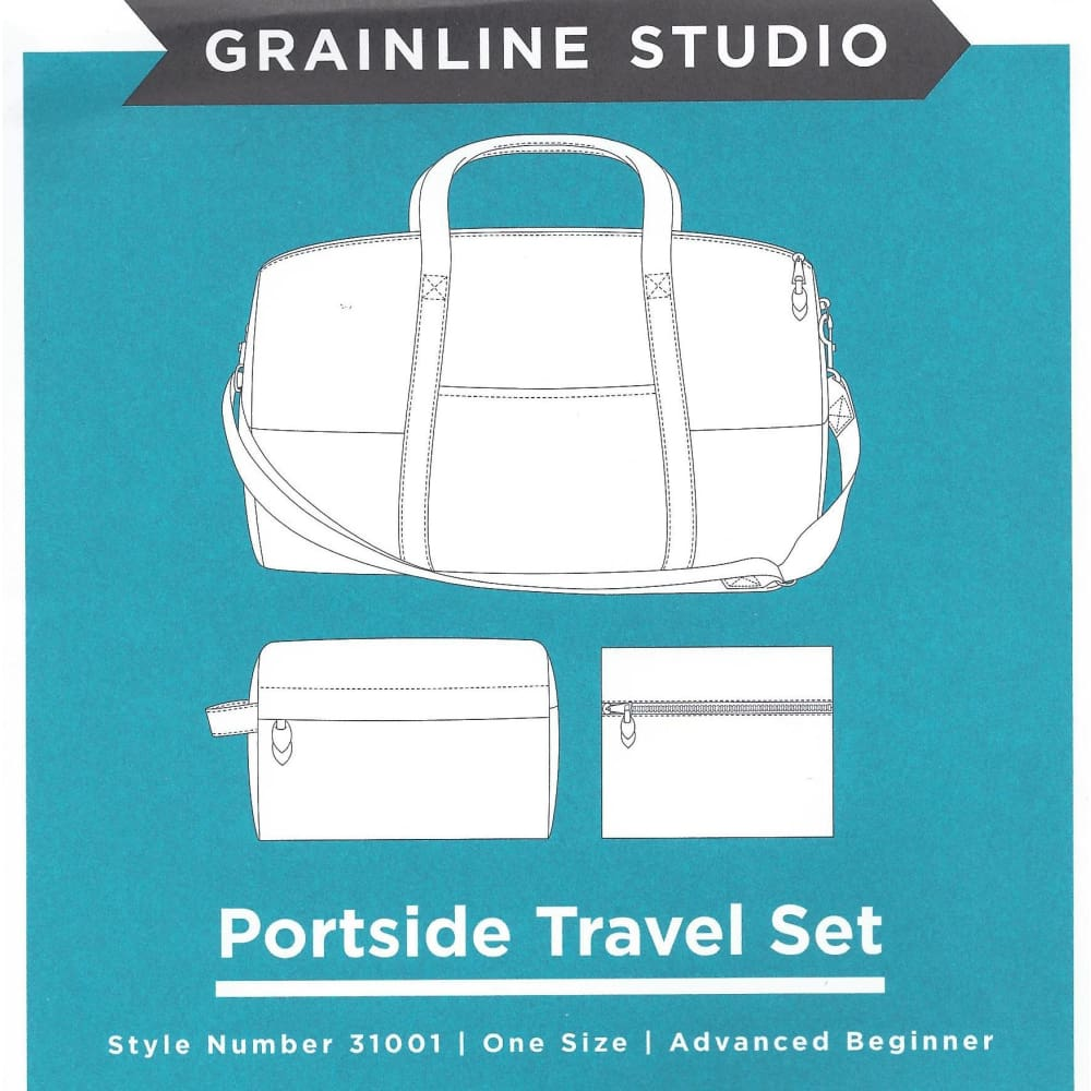 Sewing Pattern - Grainline Studio - Portside Travel Set