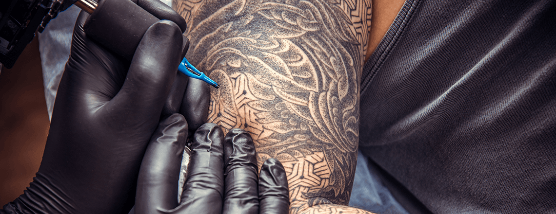 Tattooist & Piercing Gloves