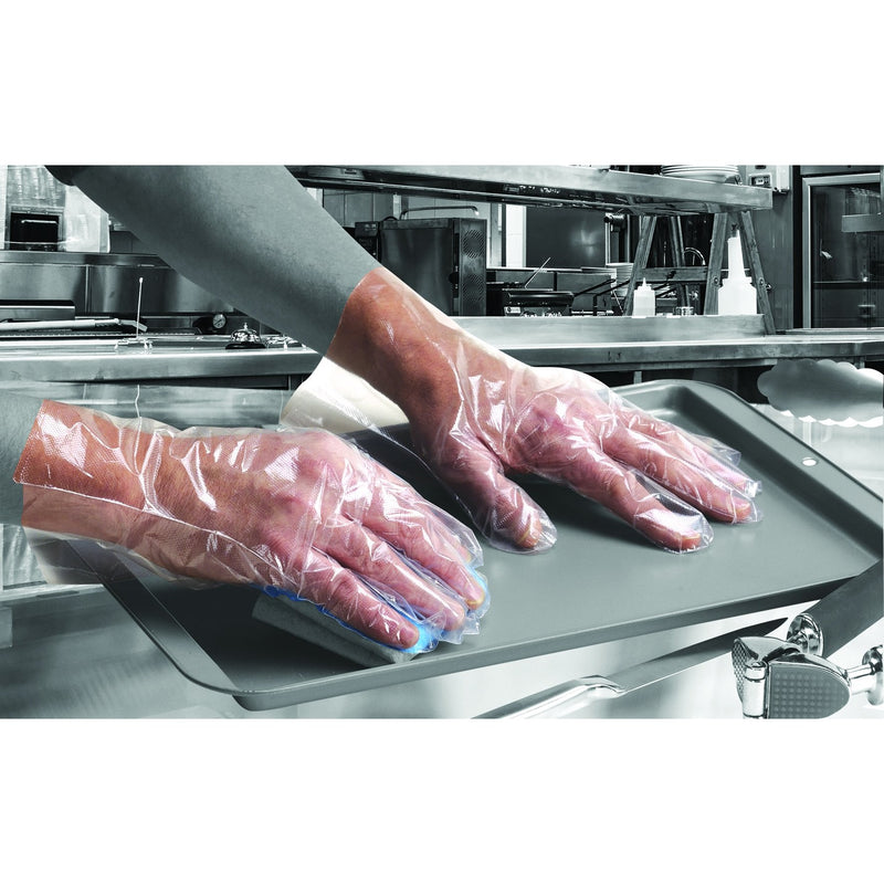 Shield Clear Polythene Disposable Gloves GD52