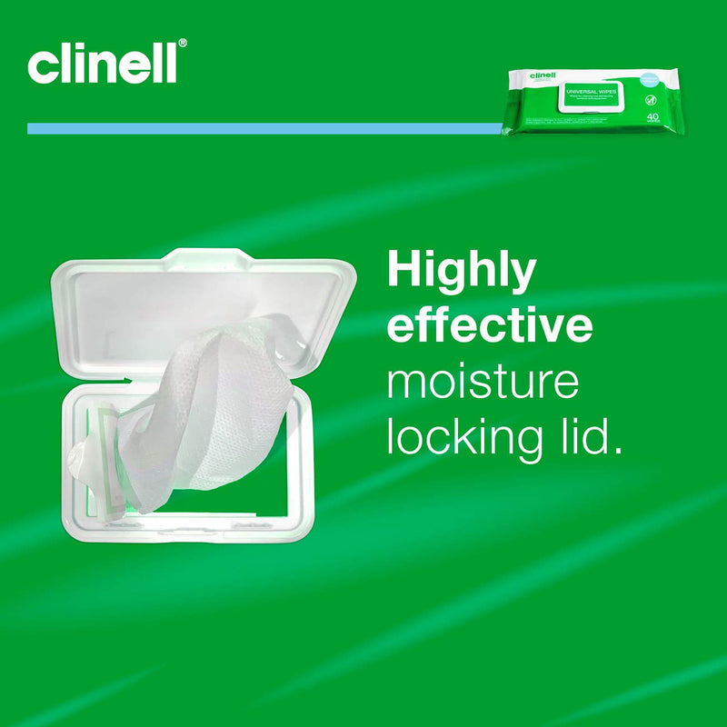 Clinell Universal Surface Wipes (40) - CW40