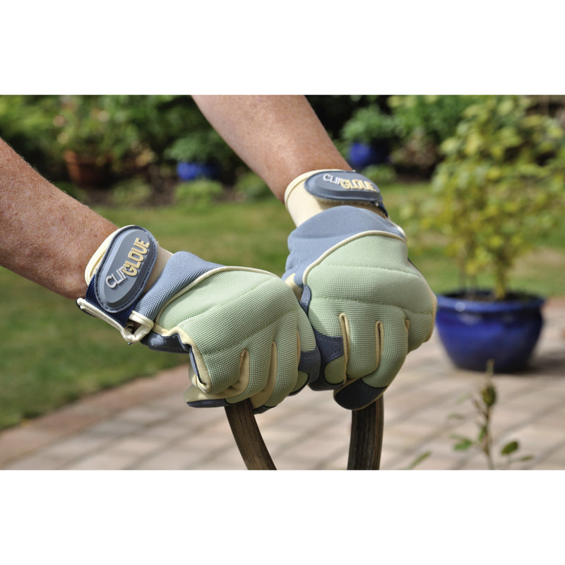 Clip Glove SHOCK ABSORBER - Ladies Gardening Gloves - Heavy Duty